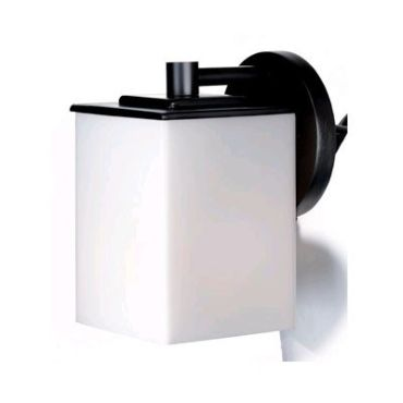 Midnight Square Outdoor Wall Sconce