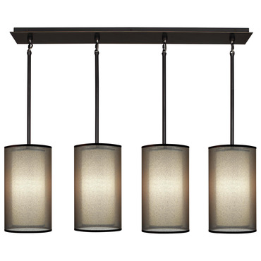 Saturnia 4 Light Linear Pendant