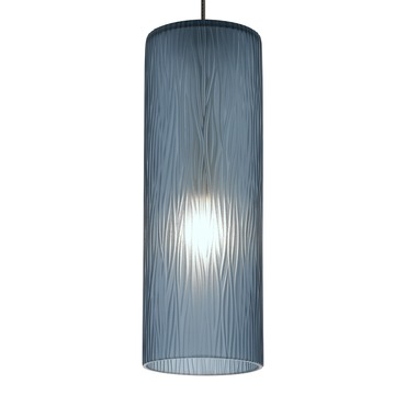 FSJ Halogen Mini Akari Pendant by LBL Lighting | HS796BUBZ1BFSJ