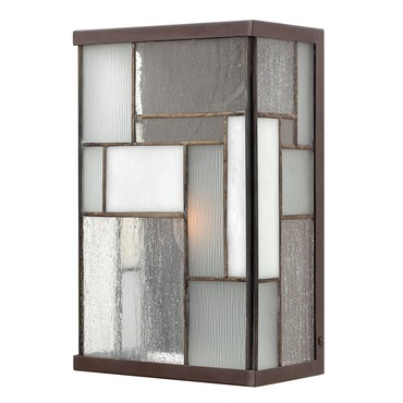 Mondrian Art Glass Wall Sconce
