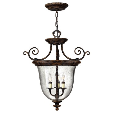 Rockford Curly Pendant by Hinkley Lighting | 3713FB