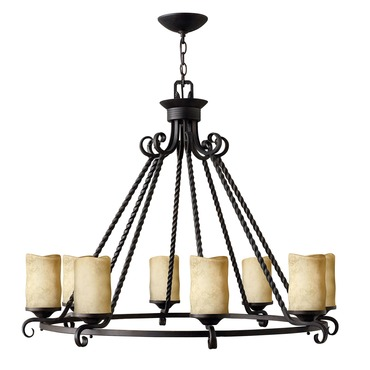 Casa Triangular Round Chandelier