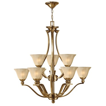 Bolla Uplight Chandelier Brushed Bronze