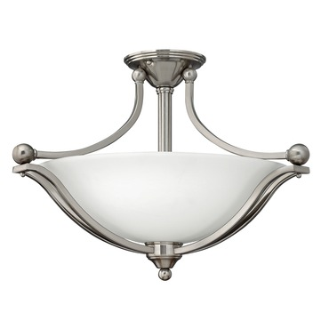 Bolla Semi Flush Mount
