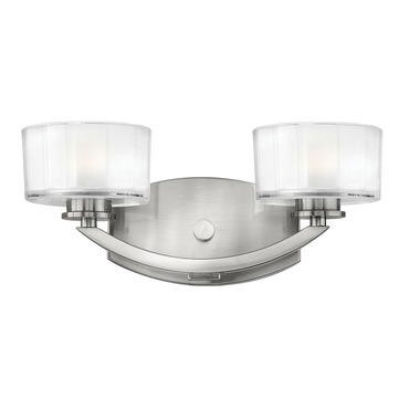 Meridian Bathroom Vanity Light by Hinkley Lighting | 5592BN