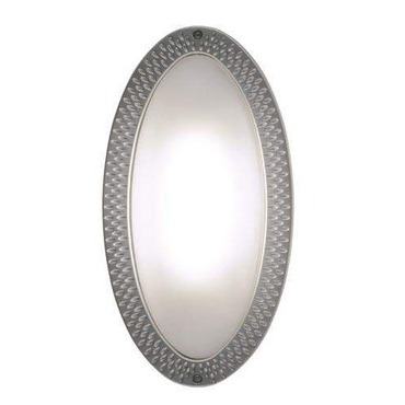 Ovalina Plain Wall Sconce / Flush Mount by Lightology Collection | 6496