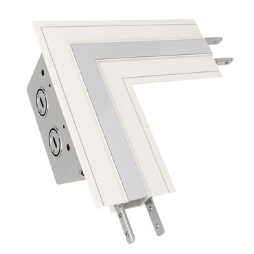 TruLine .5A L-Picture Frame Power Channel Connector  by Pure Lighting | TL.5A-LP