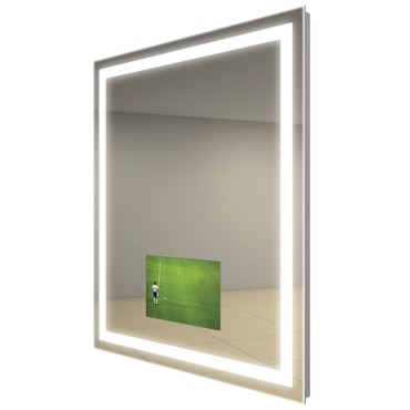 Integrity Square Lighted Mirror with TV