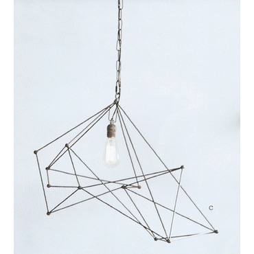 cowshed pendant wide chandelier rustic stag interiors antler products
