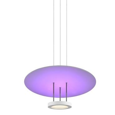 Chromaglo Spectrum LED Round Reflector Pendant
