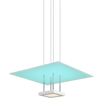 Chromaglo Spectrum LED Square  Reflector Pendant