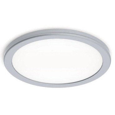 Geos Wall Ceiling Light Br Anium White