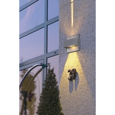 Docu Up/Down Beam Exterior Wall Sconce by SLV