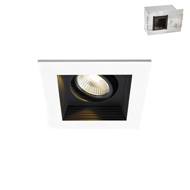 Mini LED Multiples Adjustable Downlight / New Const Housing by WAC Lighting | MT-3LD111NA-F930BK