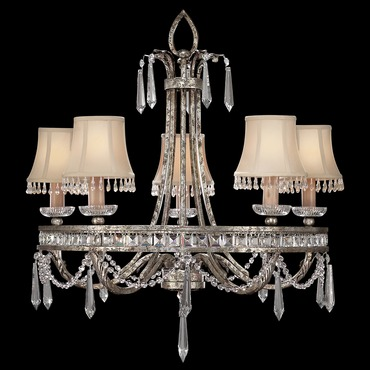Winter palace icicle chandelier by fine art lamps 302740 winter palace shaded icicle chandelier aloadofball Gallery
