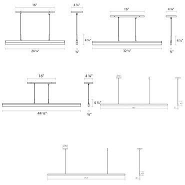 Scheherazade 3 Tier Geometric Suspension