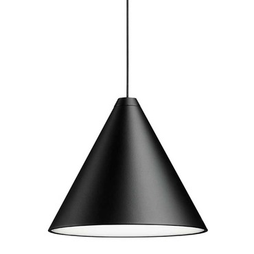 String Lights Cone Pendant with Canopy