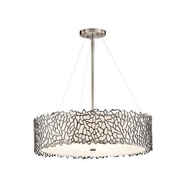 Silver Coral Pendant