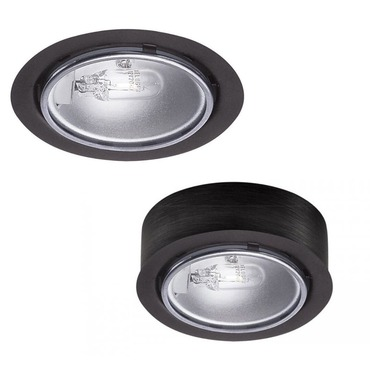 Round Low Voltage Button Light by WAC Lighting | HR-88-BK