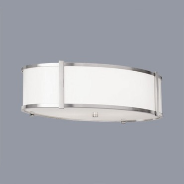 Hatbox Oval Ceiling Flush Mount