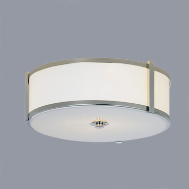 Hatbox Round Ceiling Flush Mount