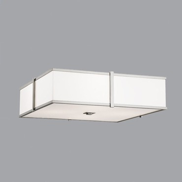 Hatbox Square Ceiling Flush Mount