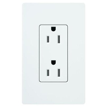 Claro 15A Tamper Resistant Receptacle