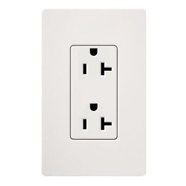 Claro 20A Tamper Resistant Receptacle