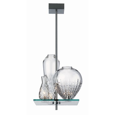 Cicatrices De Luxe 3 Light Pendant