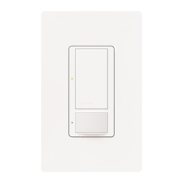 Maestro Neutral Wire Switch with Occupancy Sensor