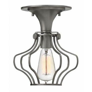 Congress Saturn Cage Ceiling Light Fixture