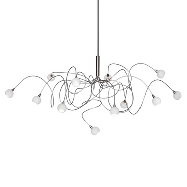 Snowball Chandelier by Harco Loor | SNOWBALL HL 15
