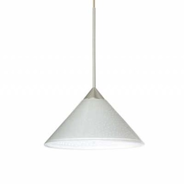 Kona Pendant with Flat Canopy by Besa Lighting | 1XP-117607-SN