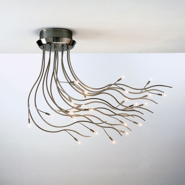 Mistral 24 Ceiling Mount by Lumen Center Italia | MIS24166LED