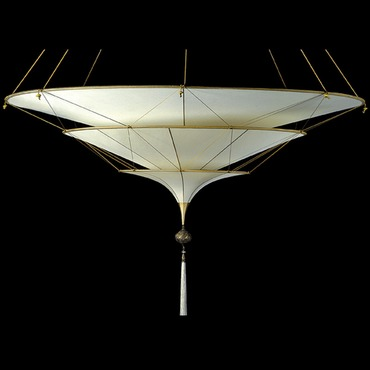 Scheherezade 3 Tier Plain Suspension by Venetia Studium | lc-126 sh-3 i