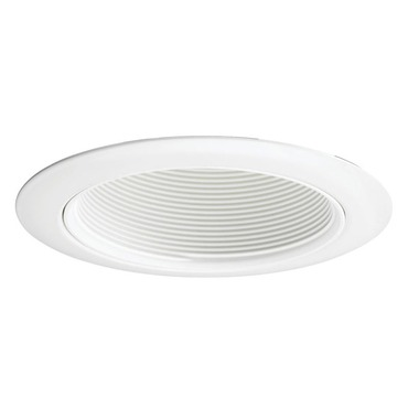 14W 4 Inch White Baffle Downlight Trim