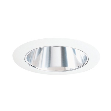 17 Series 4 Inch White Cone Downlight Trim