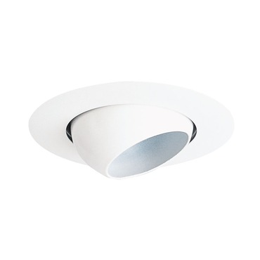 18 Series 4 Inch Mini Eyeball Trim by Juno Lighting | 18-WH
