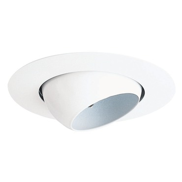 19 Series 4 Inch Mini Eyeball Trim by Juno Lighting | 19-wh
