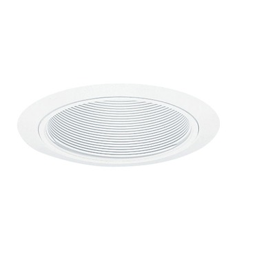 205W 5 Inch White Baffle Downlight Trim