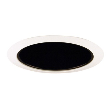 206 Series 5 Inch Deep Cone Trim by Juno Lighting | 206B-WH