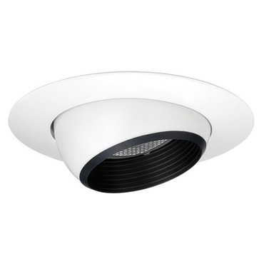 208 Series 5 Inch Adjustable Eyeball Trim by Juno Lighting | 208NBWH