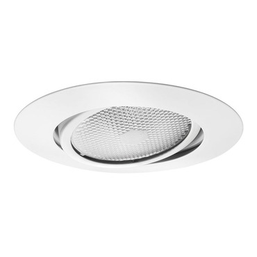 209 Series 5 Inch Adjustable Flat Trim Gimbal Ring  by Juno Lighting | 209NWH