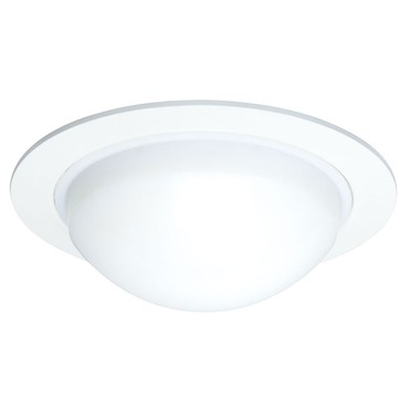 211 Series 5 Inch Dome Lensed Shower Trim by Juno Lighting | 211-PW