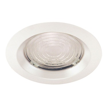 22 Series 6 Inch Fresnel Lens Shower Trim by Juno Lighting | 22-wh