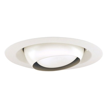 229 Series 6 Inch Regressed Eyeball Trim by Juno Lighting | 229-wh