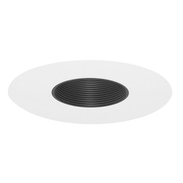 23 Series 6 Inch Baffle Pinhole Trim  by Juno Lighting | 23B-WH