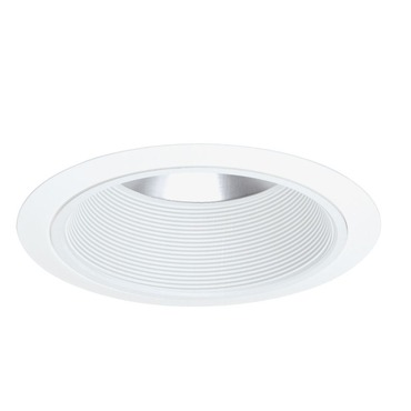 244 Series 6 Inch Shallow Baffle Trim by Juno Lighting | 244w-wh