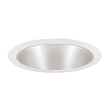 247 Series 6 Inch Shallow Cone Trim by Juno Lighting | 247SHZWH