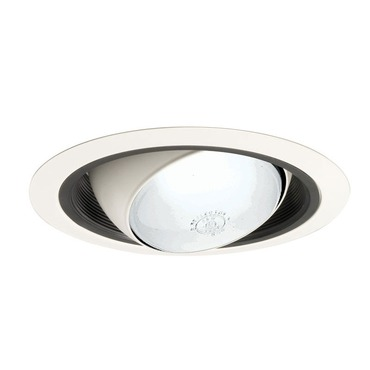 249 Series 6 Inch Regressed Eyeball Trim by Juno Lighting | 249b-wh